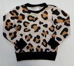Panter-Sweater-Meisjes-Okergeel