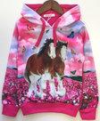Paarden-Sweater-Meisjes-Pink