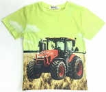 tshirt-Trekker-(CASE)-Jongens-Neon-Groen