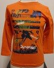 Shirt-Blue-Seven-Jongens-Oranje,-maat-98
