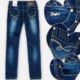 Fanny Look Jeans Meisjes Donkerblauw_