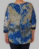 Shirt Dames Blue Seven Blauw_