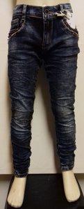 Fanny Look Jeans Meisjes Donkerblauw