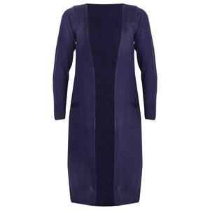 Lang Vest Dames Donkerblauw