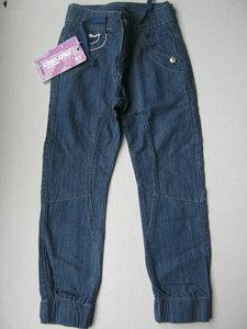 ChiLong Skinny Jeans Meisjes Blauw Maat 122/128