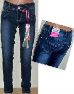 ChiLong Jeans Meisjes Grijs Maat 170/176