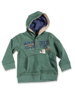 Blue Seven Sweater Jongens Groen Maat 74