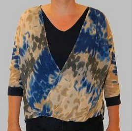 Shirt Dames Blue Seven Blauw